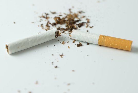 kırılmış sigara