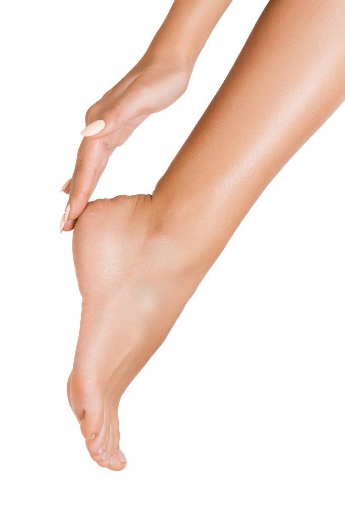sağlıklı ve bakımlı bir ayak konsepti