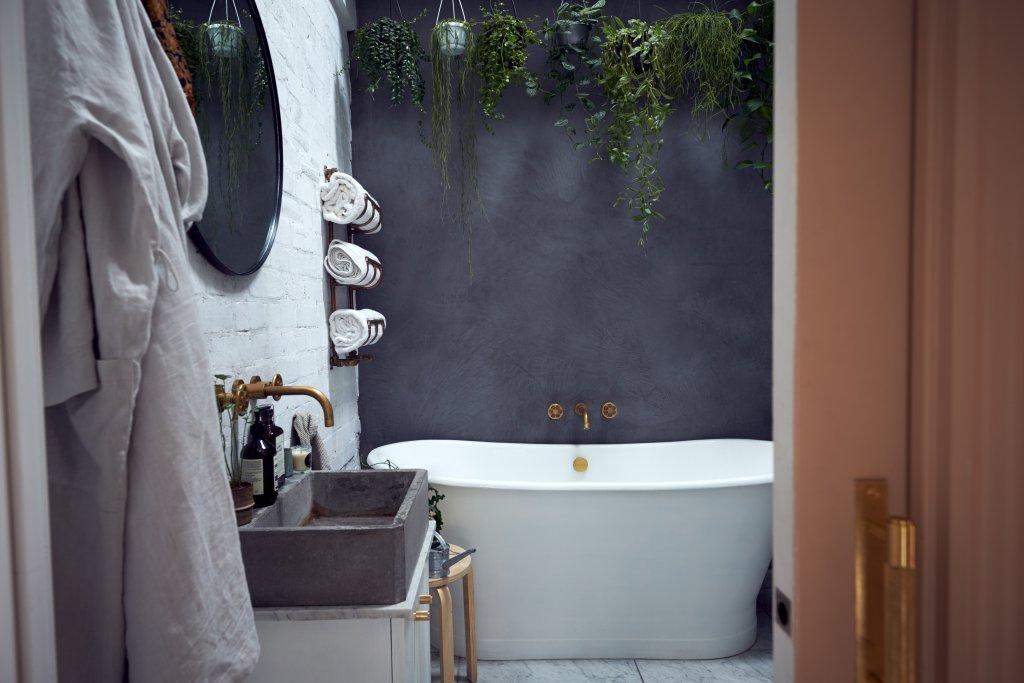 banyo dekorasyonu